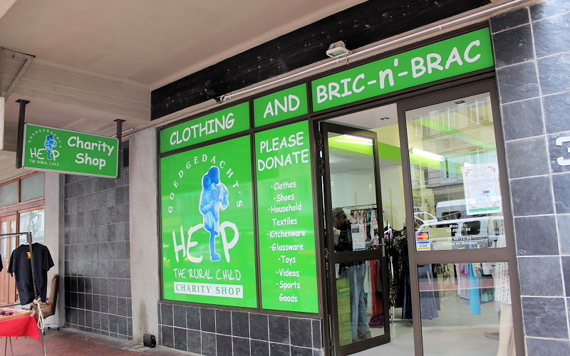Help the Rural Child Charity Shop Cape Town
