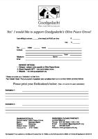 Download Olive Tree Dedication Form