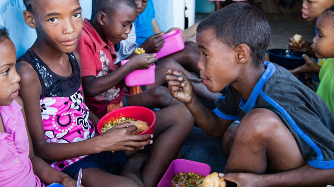 sponsor a child every month at Goedgedacht