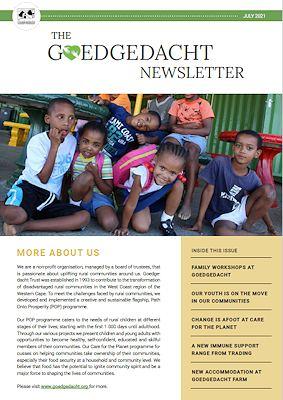 Goedgedacht Newsletter July 2021
