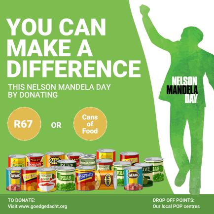 Donate on Mandela Day